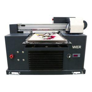 a4 dtg жалпақ мақта мата принтер футболка басып шығару машинасы