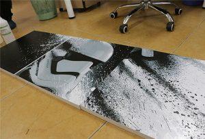 WER-G2513UV үлкен форматты УК-принтермен басып шығарылған жарнамалық бланк 2