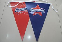 Flag 1,8м (6 фут) eco этикеткасы бар WER-ES1801 басып шығарылған мата баннері 2