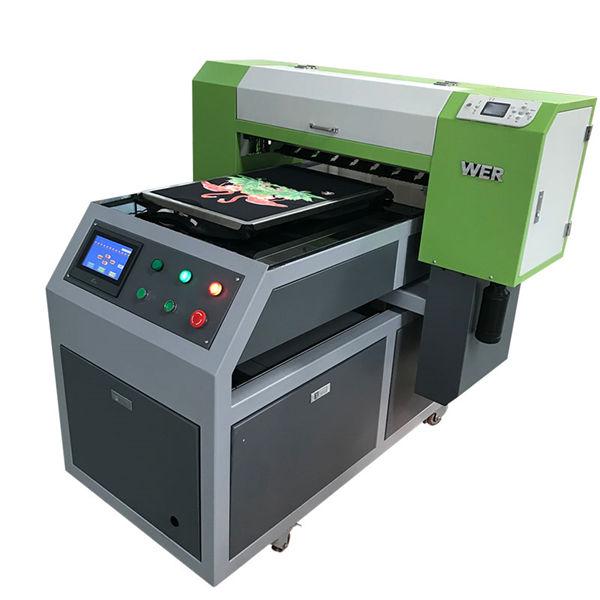 2018 жаңа өнімі 8 түстік сия a1 6090 ув жалпақ принтер