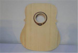 A2 өлшемді UV принтерінен ағаш гитары үлгісі WER-DD4290UV